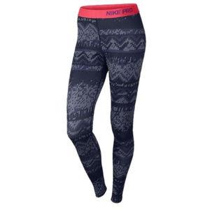 🍁SALE🍂 Nike Pro Hyperwarm DriFit Thermal Tights